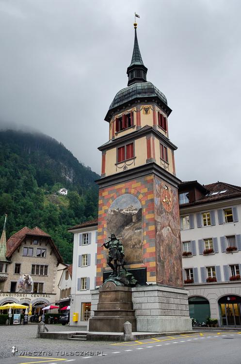 Altdorf na trasie Via Alpiny