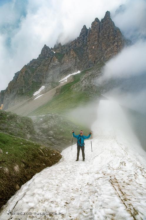 Jedna z przełęczy na Via Alpinie