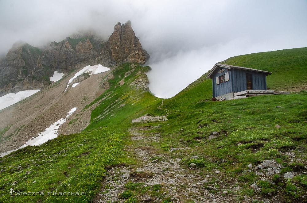 Via Alpina szlak 14 przełęczy