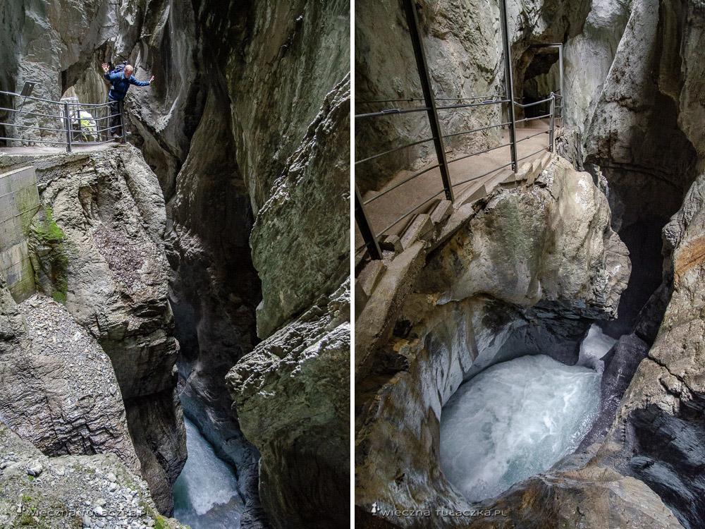 Rosenlaui Glacier Gorge, Szwajcaria