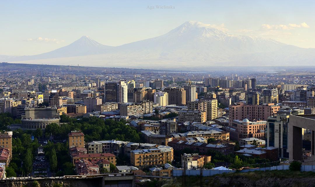 Ararat z Erywania, Armenia