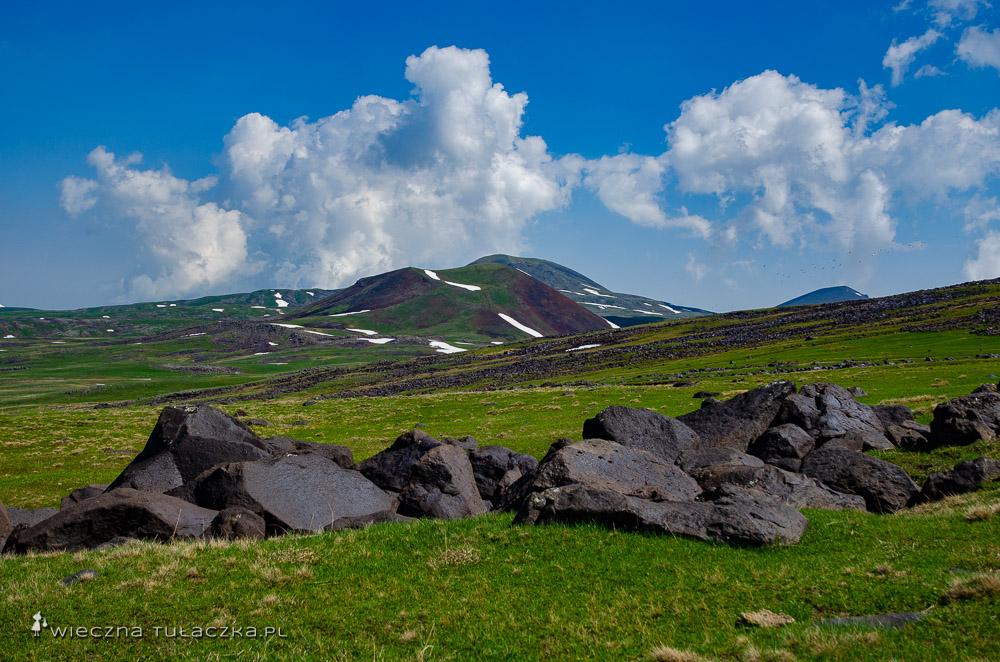 Trekking na Azhdahak, Góry Gegamskie