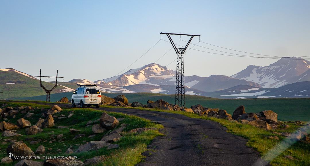 Aragats, w Armenii