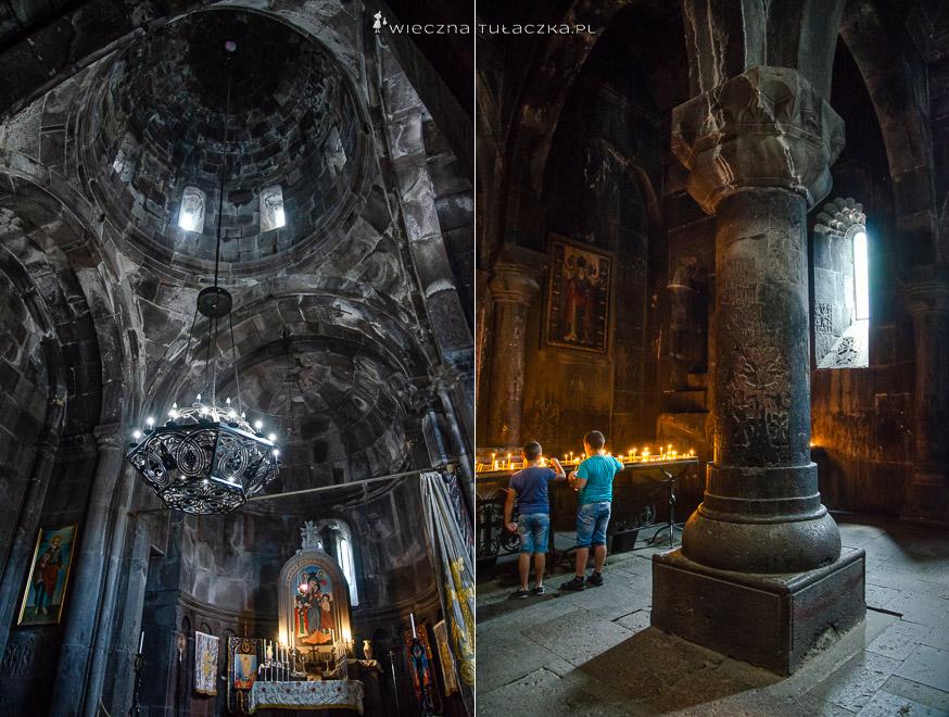 Klasztor w Geghard, w Armenii