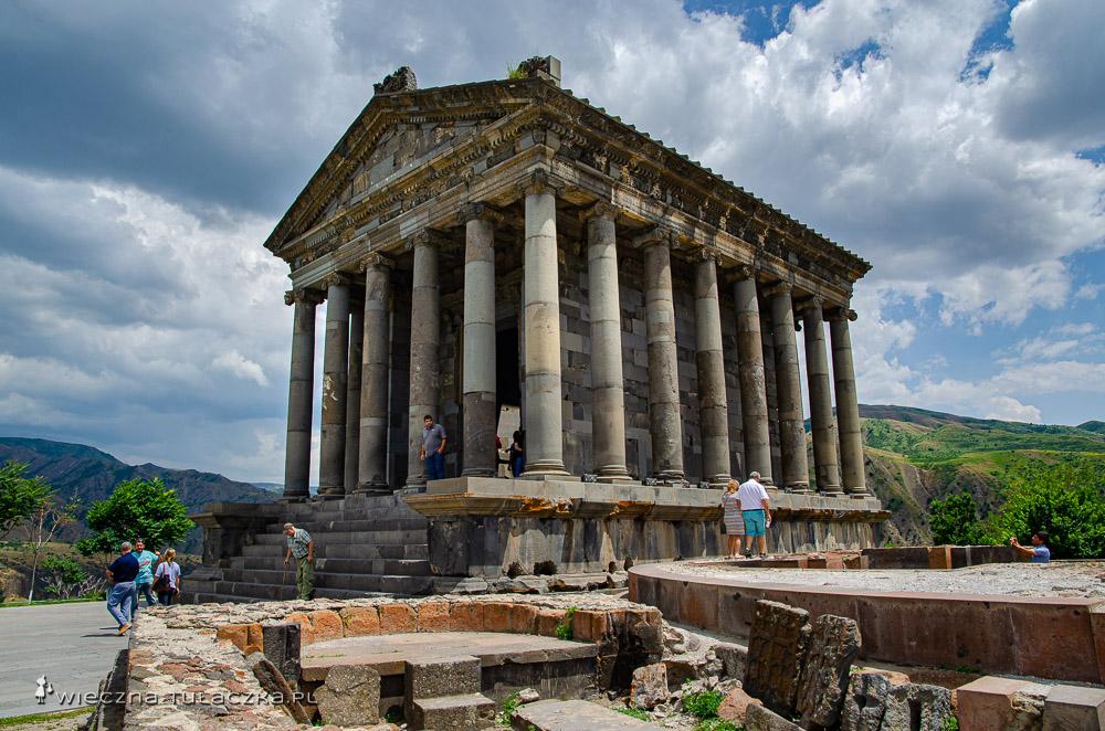 Świątynia w Garni, Armenia