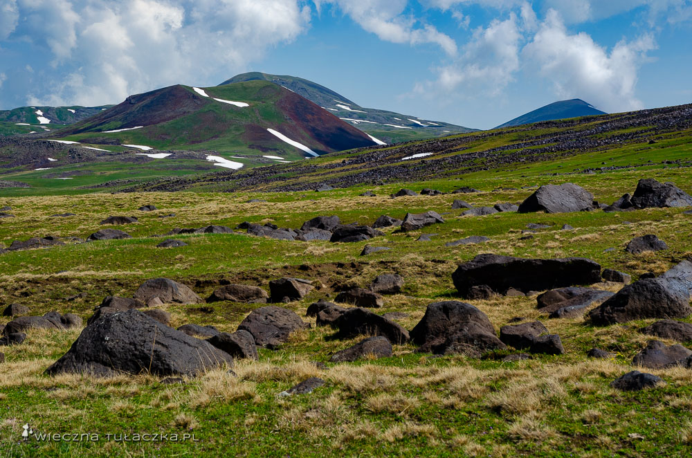 Góry Gegamskie w Armenii