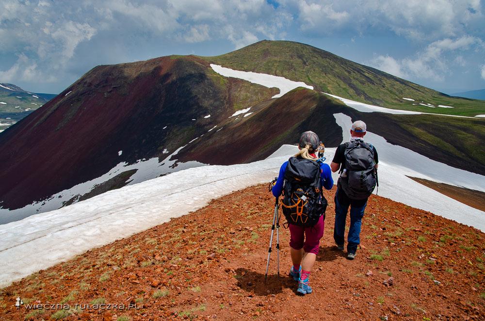 Opis drogi na Azhdahak, najwyższy szczyt Gór Gegamskich