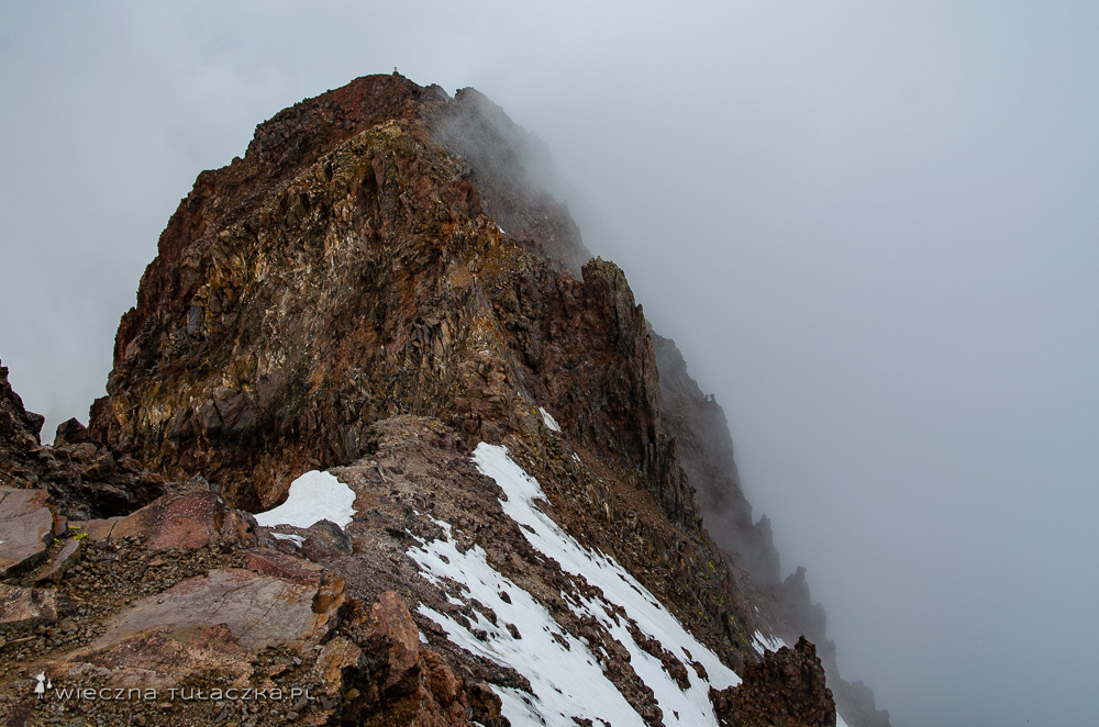 Aragac, najwyższy wierzchołek północny