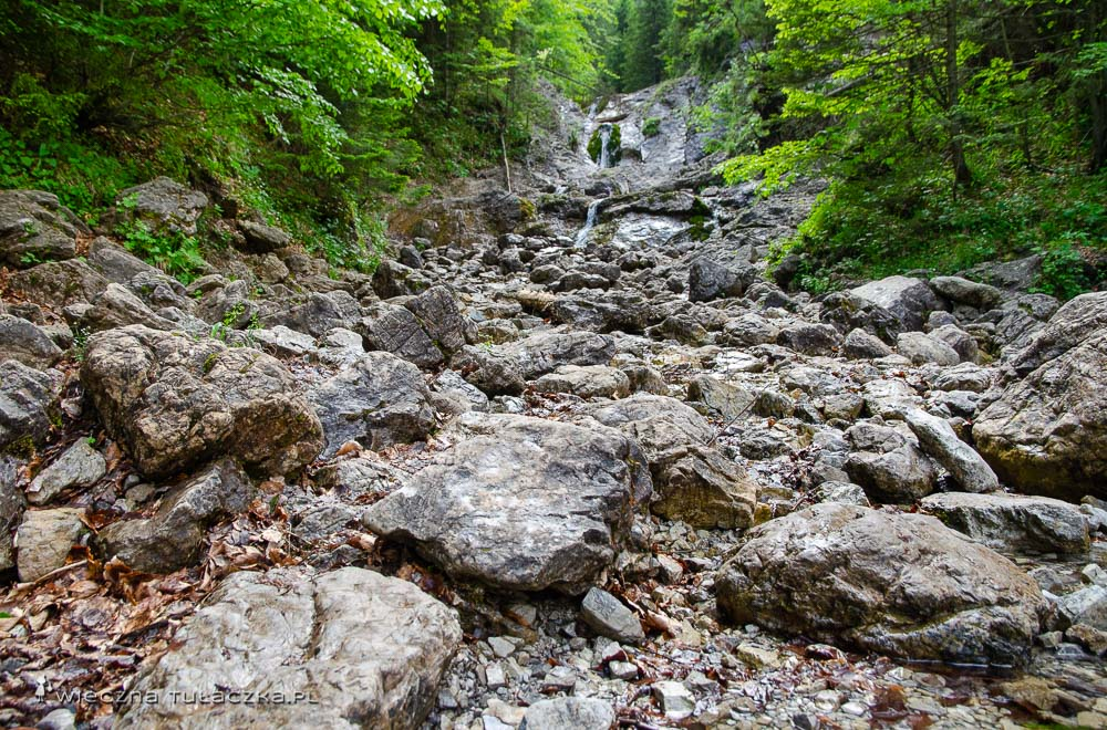 Wodospady w Dolinie Białego, Tatry