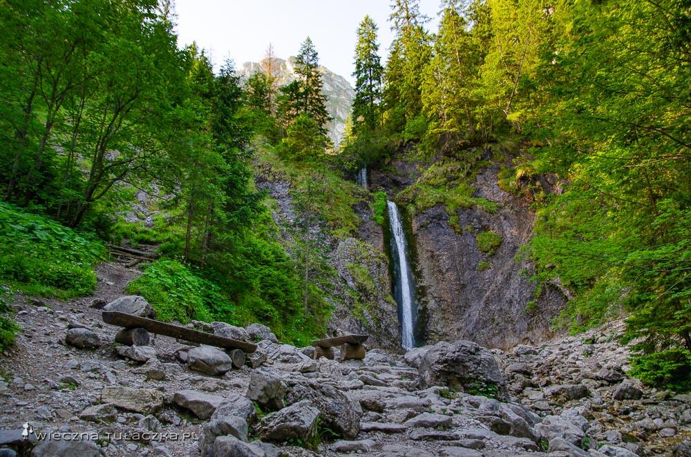 Wodospad Siklawica w Tatrach
