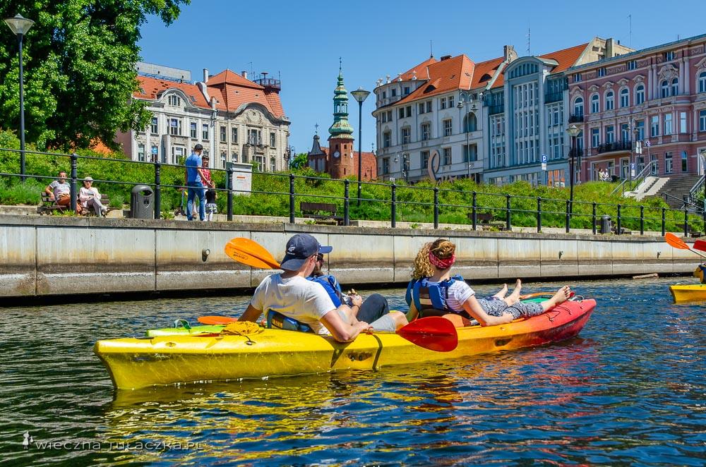 Wycieczka kajakowa w Bydgoszczy
