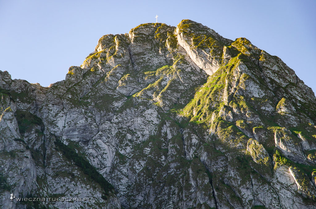 Giewont z Doliny Strążyskiej