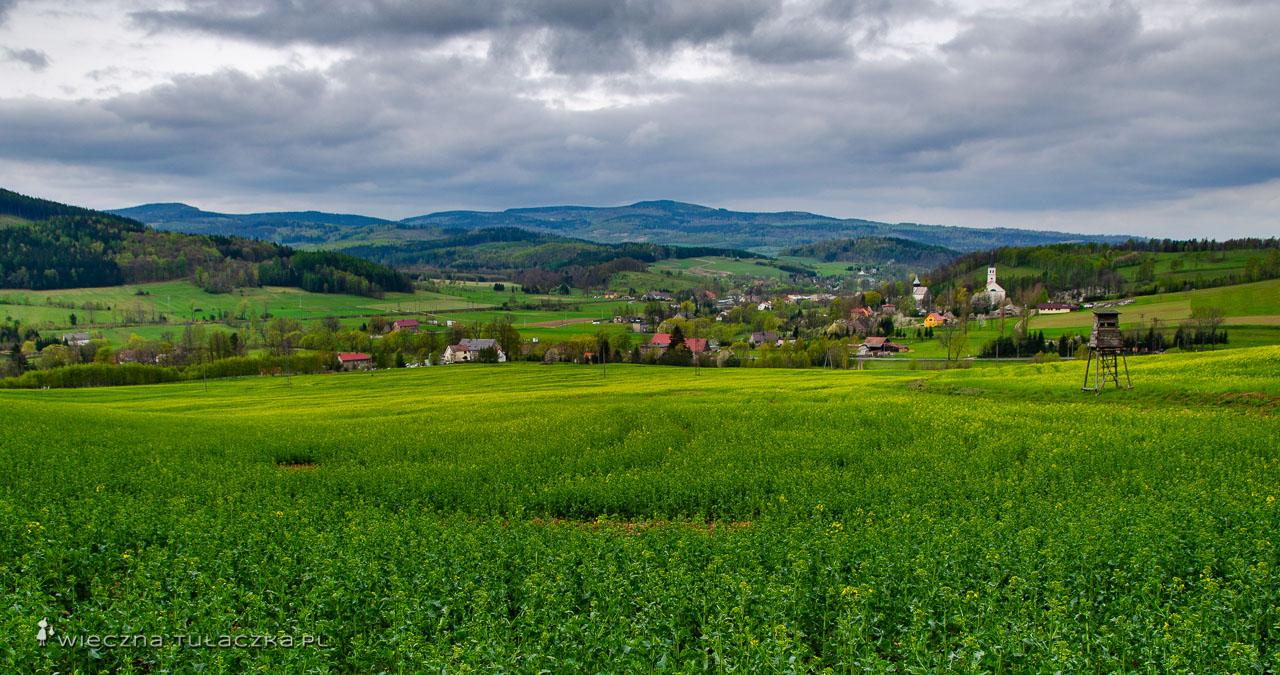 Opis zielonego szlaku z Wałbrzycha