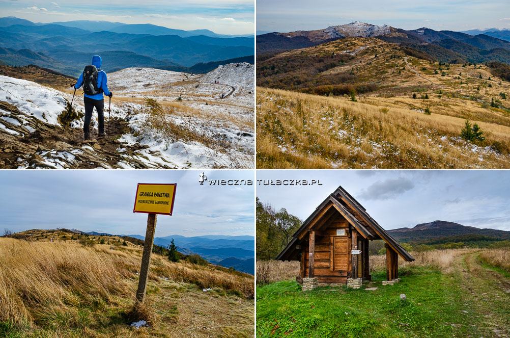 Przełęcz Bukowska w Bieszczadach