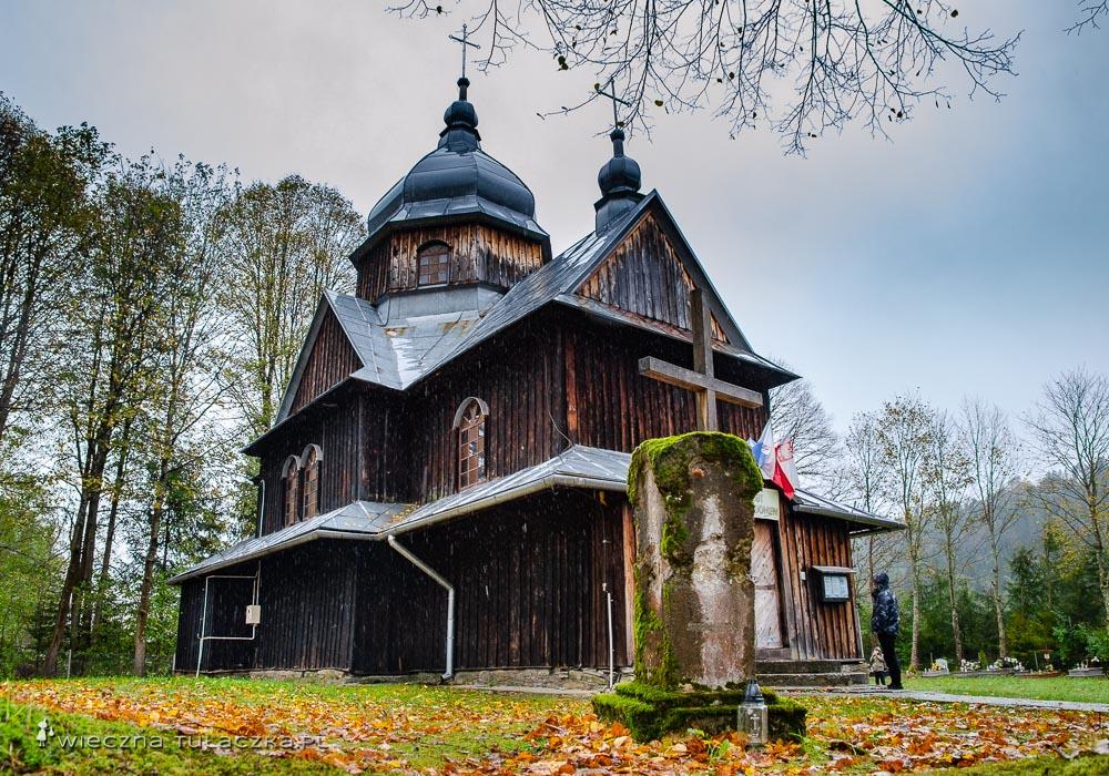 Cerkiew w Chmielu w Bieszczadach