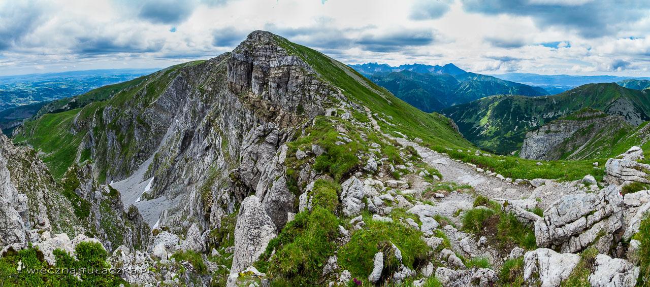 Szlak na Krzesanicę w Czerwonych Wierchach