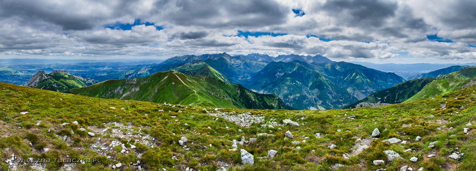 Panorama z Małołączniaka
