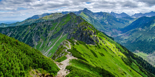 SUCHE CZUBY W TATRACH – szlak graniowy z Przełęczy pod Kopą Kondracką na Kasprowy Wierch