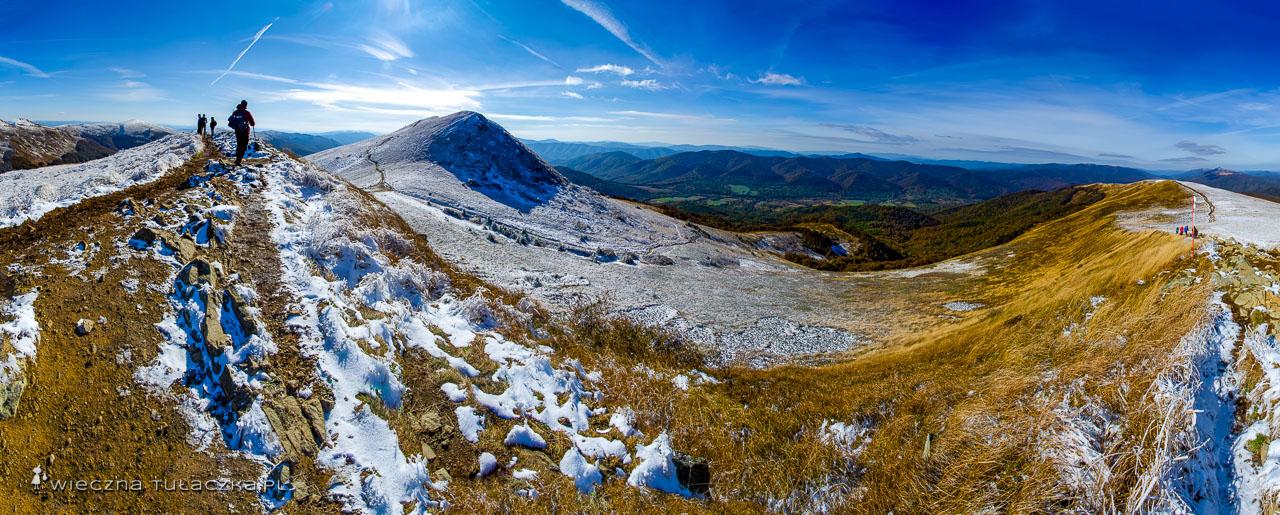 Szlaki na Szeroki Wierch w Bieszczadach