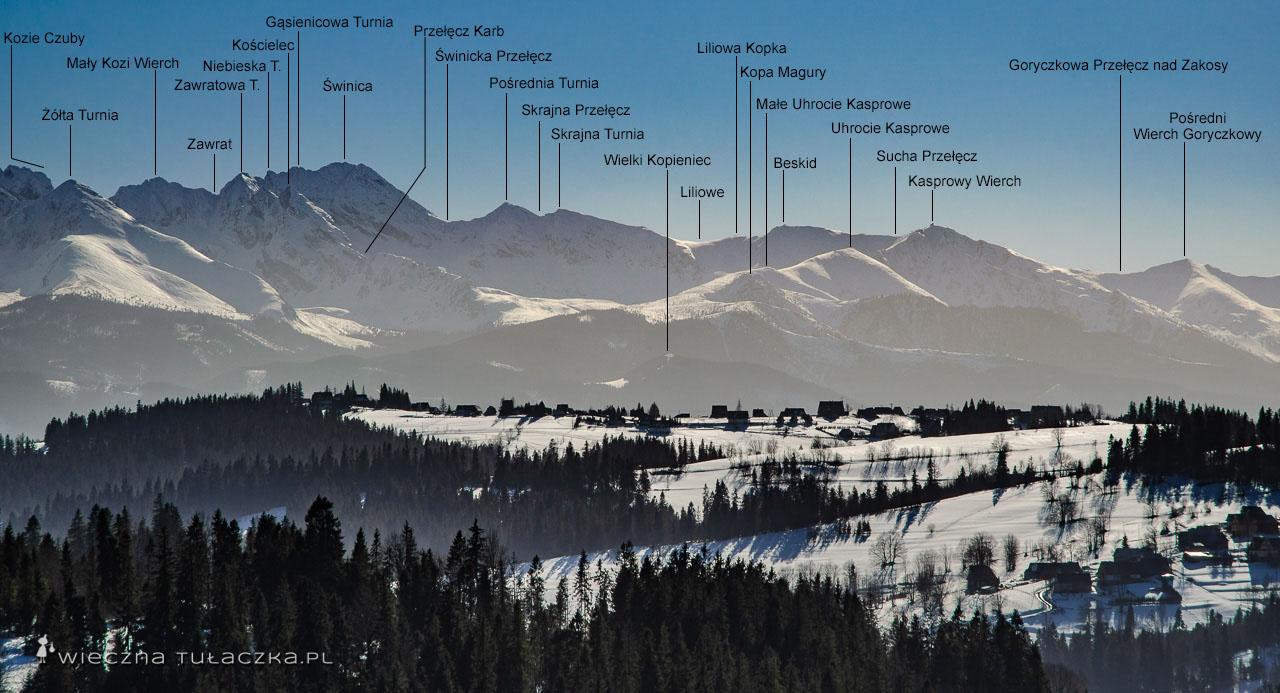 Szlak z Kasprowego Wierchu
