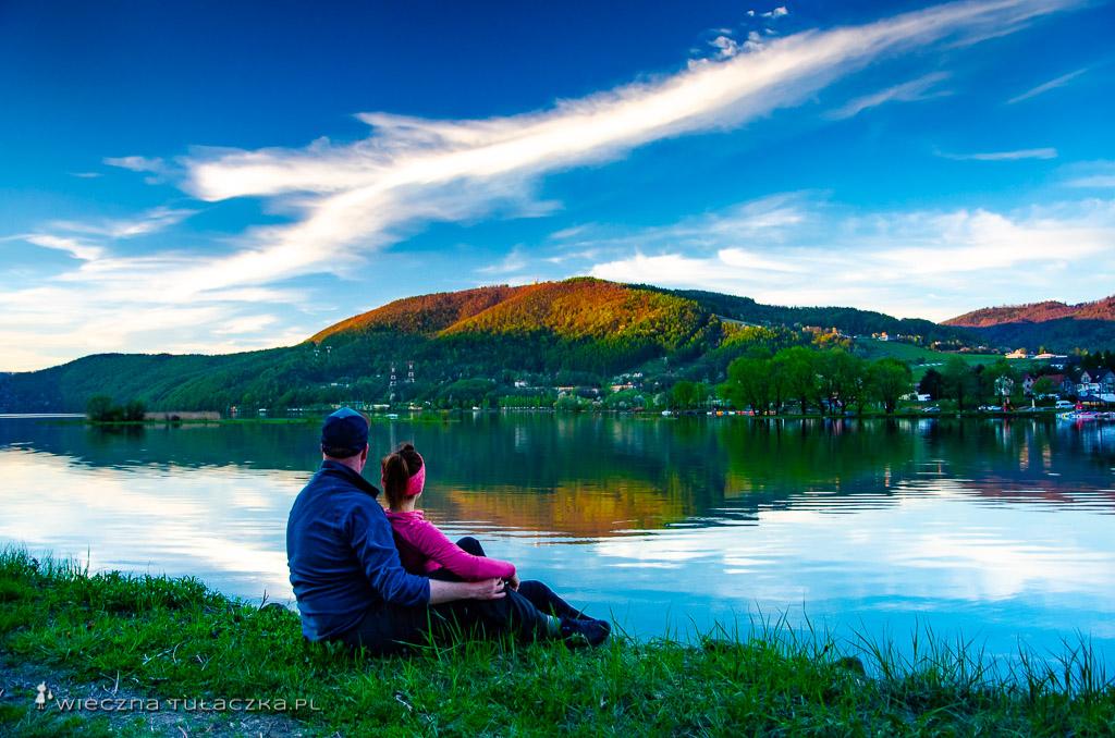 Jezioro Międzybrodzkie i Góra Żar