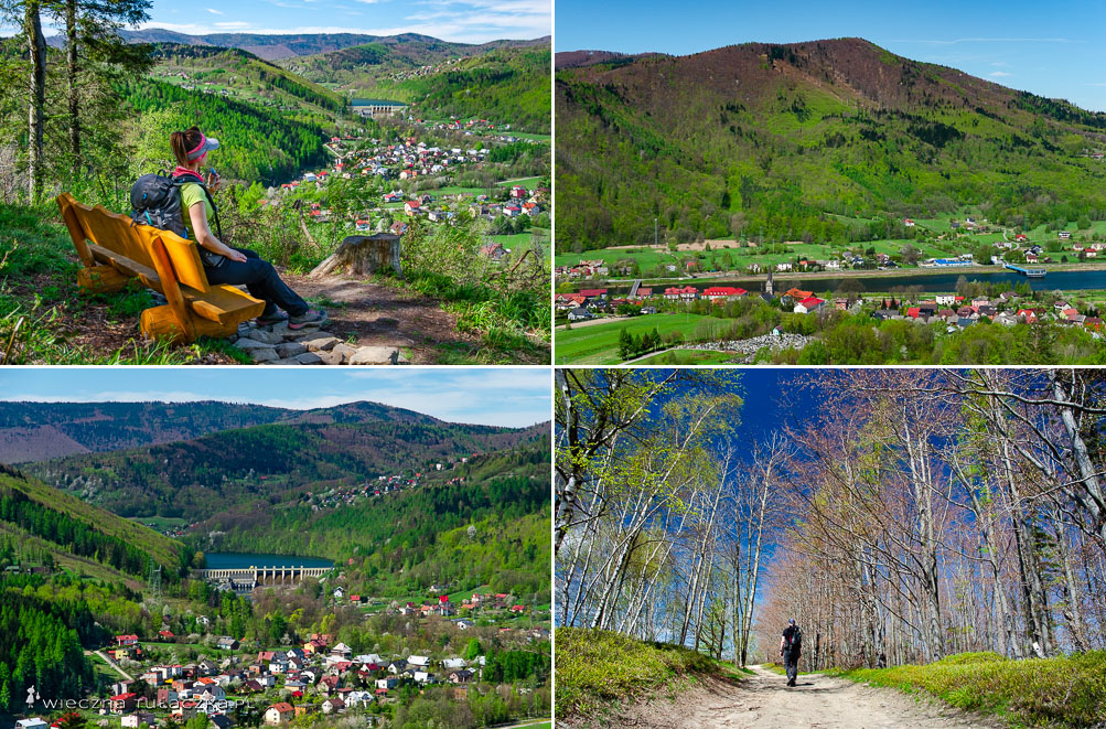 Zielony szlak z Porąbki