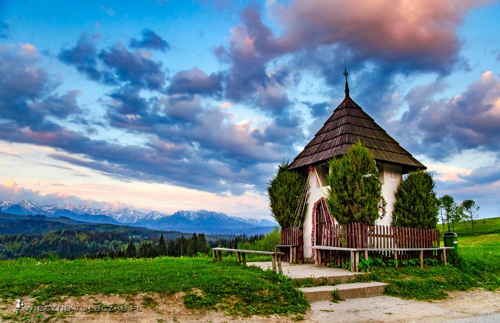 Przełęcz nad Łapszanką, Spisz