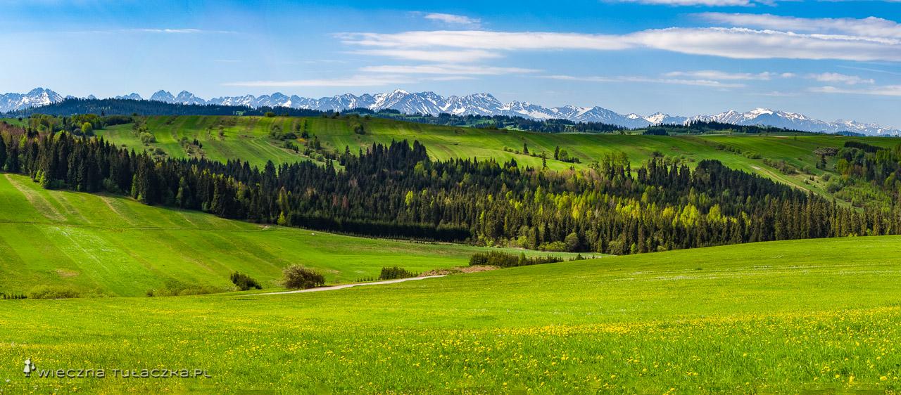 Zielony szlak z Dyrsztyna na Spiszu