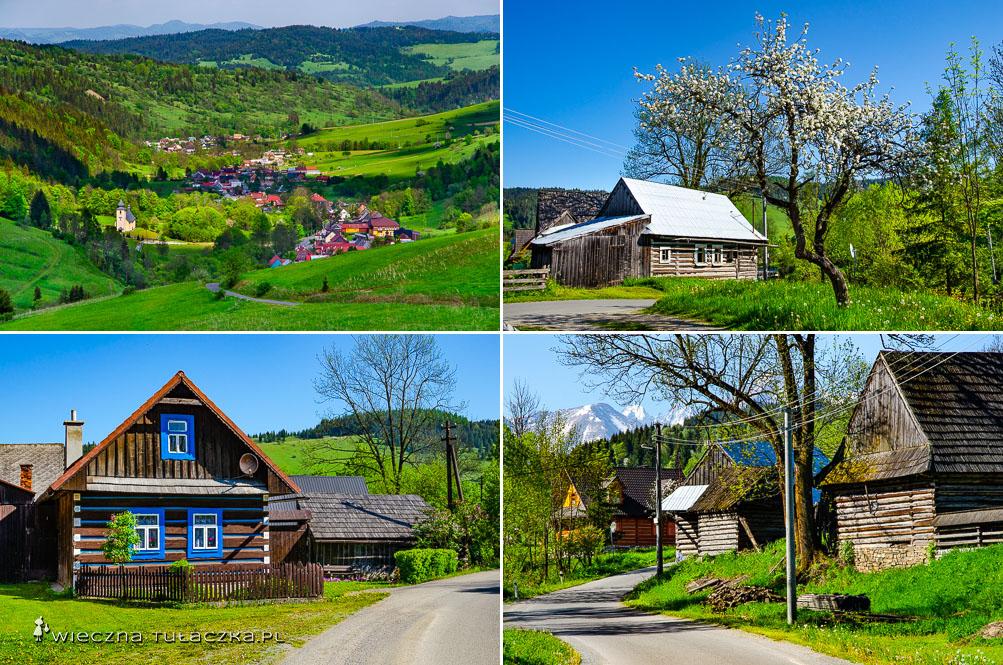 Szlak z łap szanki do Osturni na Słowacji