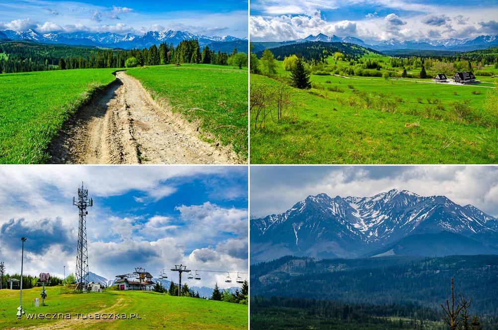Szlak na Górków Wierch, Jurgów Ski