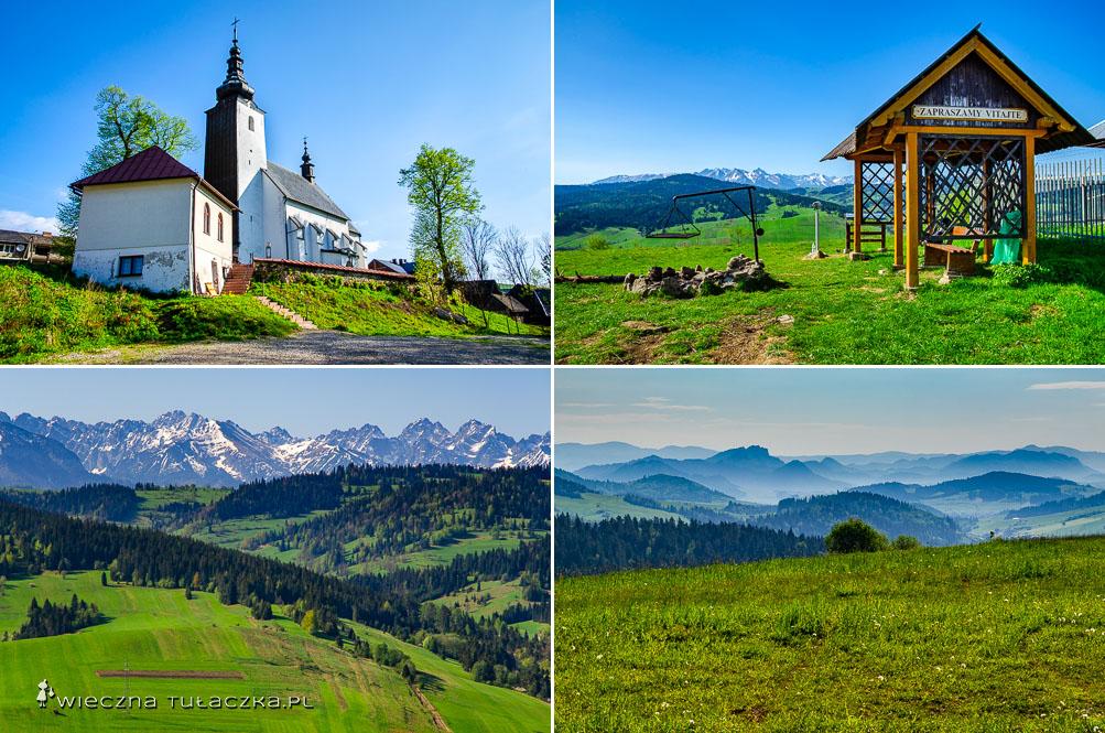 Grandeus, punkt widokowy na Tatry