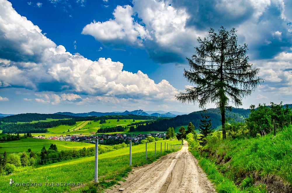 Szlak z Łap szanki do Kacwina