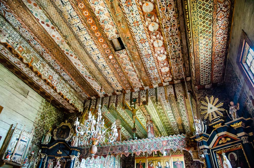 Dębno Podhalańskie, kościół wpisany na listę UNESCO